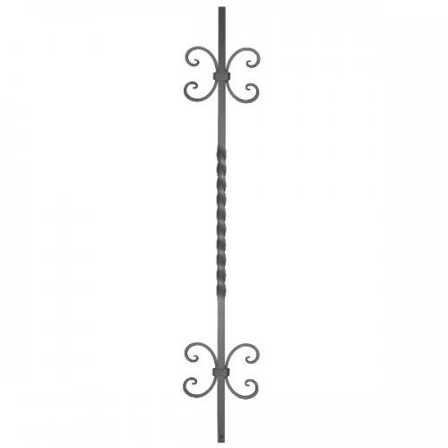 Wrought iron heavy bars 551-64