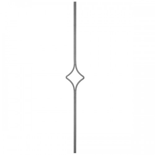 Wrought iron heavy bars 552-11