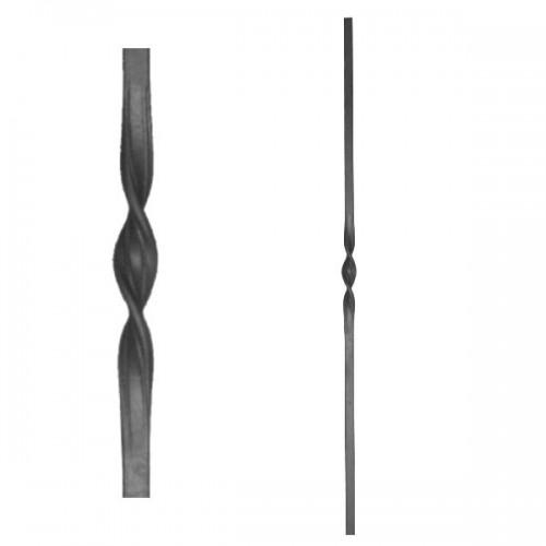 Wrought iron heavy bars 555-01