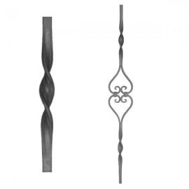Wrought iron heavy bars 555-11