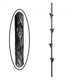 Wrought iron wooden heavy bar 700-04