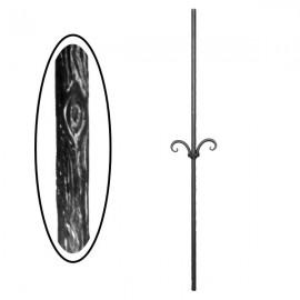 Wrought iron wooden heavy bar 700-05