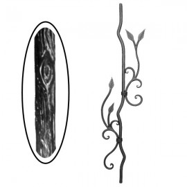 Wrought iron wooden heavy bar 700-16