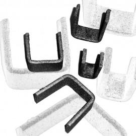 Wrought iron staples