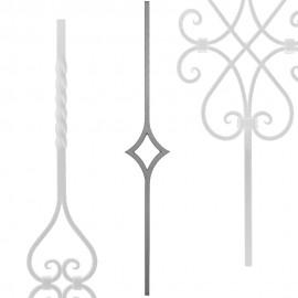 Wrought iron heavy bars serie 552